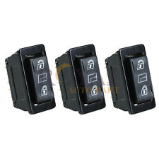 (3) Car Momentary Power  Power Door Lock Unlock Switches Universal