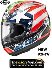"NEW Arai RX-7V Nicky ""HAYDEN""Replica Motorcycle Race Helmet, M Medium 57-58cm"