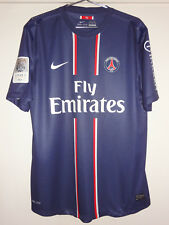 MAILLOT PRO PSG 2012/2013 DOMICILE IBRAHIMOVIC # 18 PARIS SAINT GERMAIN T. XL