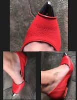❤️ New 39 Or 8 Mimco Poppy Urchin Ballet Flats Shoes Sandals Heels $199