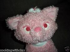 DISNEY STORE PLUSH DOLL ARISTOCATS FLUBBER PINK MARIE FEMALE CAT OF DUCHESS TOY