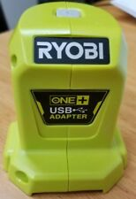 RYOBI 18V ONE+ 2.1A USB ADAPTER DEVICE POWER ADAPTER SKIN ONLY PHONE CHARGER