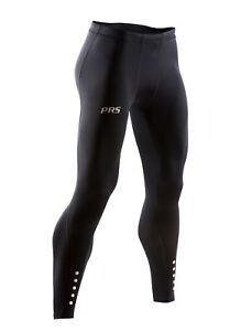 PRS Men's Perform+ Compression Tights for Running, Crossfit, HIIT, Yoga, Gym