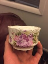 antique/ vintage Mustache Tea Cup and Saucer, Germany