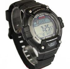 Casio Men's W-S220 Tough Solar 120 Lap Memory Led Light Watch W-S220C-1A New