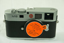 LEICA M8 Silver (10702) 10.3Mp - very good condition - shutter count only 9171!