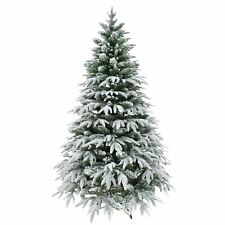 Designer Artificial Christmas Tree Snow Covered Xmas Decorations Home 4ft 120cm