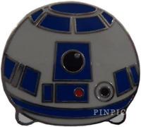 Star Wars Disneyland Galaxy Edge Disney Pin 120053 Tsum Tsum R2-D2 Droid Mystery