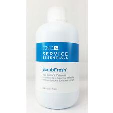 NEW PACKAGING!!! CND essentials ScrubFresh Nail Surface Cleanser 222ml / 7.5oz