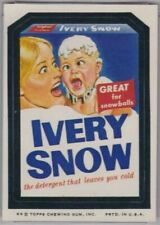 1974 Topps Wacky Packages Ivery Snow Marilyn Chambers 8th Series 8 NM