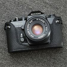Funper  Ricoh RX500 Camera Half Case Genuine Leather Handmade Protective Cover