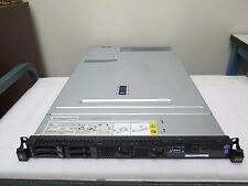 IBM SYSTEM X3550 M4 SERVER Dual E5-2680 2.70GHZ 32GB 2x 300GB 10K SAS 16 Core
