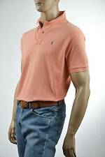 Ralph Lauren Classic Fit Peach Orange Mesh Polo Shirt/Green Pony - NWT