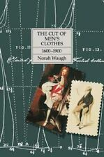 The Cut of Men's Clothes, 1600-1900 by Norah Waugh (1987, Hardcover)