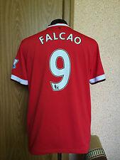 Manchester United Inglaterra 2014/2015 Hogar Camiseta De Fútbol Jersey Maglia #9 Falcao