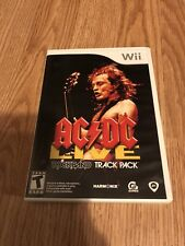 AC/DC Live: Rockband Track Pack Nintendo Wii Cib XP3
