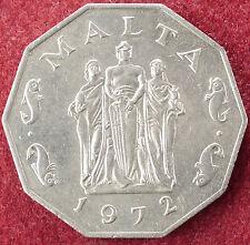MALTA 50 CENTESIMI 1972 (D2004)