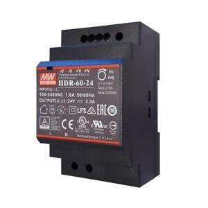 PS60 24VDC 2,5A Gleichspannungs Transformator f Video Türsprechanlage Türklingel