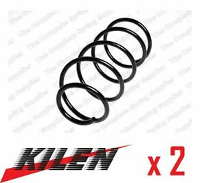 2 x NEW KILEN FRONT AXLE COIL SPRING PAIR SET SPRINGS GENUINE OE QUALITY 12154