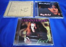 GLENN HUGHES - 3CD Set - Feel / Play Me Out / The Work Tapes