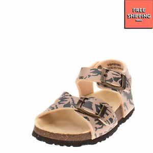 DOCKSTEPS Kids Slingback Footbed Sandals EU 20 UK 4 US 5 Patterned Cork Outsole