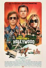 ONCE UPON A TIME IN HOLLYWOOD MOVIE POSTER, US Version, (Size 24 x 36)