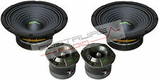 "XPL KIT - 2x TWEETER bullet XTW2511 2x WOOFER XW08-02 200 mm 8"" 1000W SPL Auto"