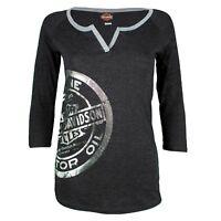 Sturgis Harley Davidson® Women's Miss Motor 3/4 Sleeve Shirt