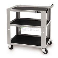 Carrello Beta C51 colore grigio portautensili portattrezzi 3 ripiani 200kg