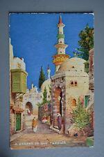 R&L Postcard: Tuck Oilfacsim Charms of the East 3613 Morocco Street