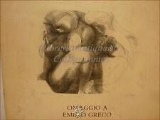 Catalogo ARTE: OMAGGIO A EMILIO GRECO Opera Incisoria 1988 Pal. Lanfranchi Pisa