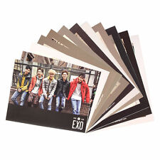 [Kolon Sport] EXO GENUINE NEW 12 Photo Cards Unposted Chrome Artist Asia