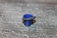 PLAYMOBIL - Accessoire personnages - jeux enfant - seau bleu de plage sable mer