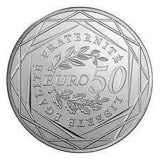 Pièce 50 euros argent - Semeuse - 2010