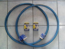 2 COPERTONI + CAMERE MICHELIN DYNAMIC SPORT 700X23 BLU X BICI 28 SINGLE SPEED
