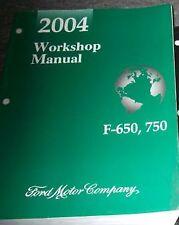 2004 Ford F-650 F650 F750 750 F MEDIUM DUTY TRUCK Service Shop Repair Manual OEM