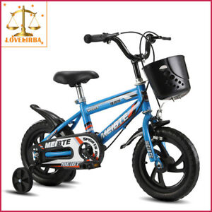 Prams Kids Bicycle With Auxiliary Wheel Ride-On Toy KBI2035