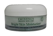 Eminence Organic Bright Skin Moisturizer SPF 30 Sunscreen 2 Ounce