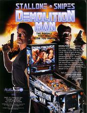 Demolition Man Demo Man Pinball cpu sound set profanity home roms