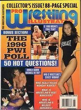 Pro Wrestling Illustrated June 1996 1996 PWI Poll VG 050416DBE