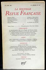 La Nouvelle revue française 176 juin 1967 TBE