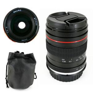 35mm F2 Manual Macro Prime Lens for Canon 5D Mark III IV 6D Nikon D750 Sony A7