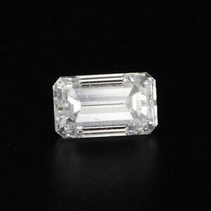 1ct Loose Diamond GIA Graded Emerald Cut Solitaire F SI2