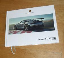 Porsche 911 991 GT2 RS Hardback Sales Brochure 2017-2018