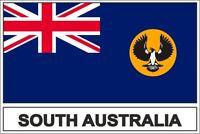 Sticker adesivi adesivo bandiera south australia