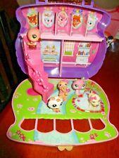Palace Pets LPS Play set Storage Carry Along Purse Blip Disney w/ 5 figures