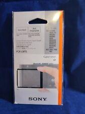 Sony PCKLM15 LCD Protector for DSC-RX1 semi hard anti fingerprint (Black) (5235)