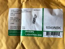 Lightolier 6049BK Track Coupler (Black) Brand New in the box!