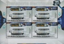 2009 NISSAN CUBE (DENKI) Mini MPV EV-02 Electric Concept Car Vehicle Stamp Sheet