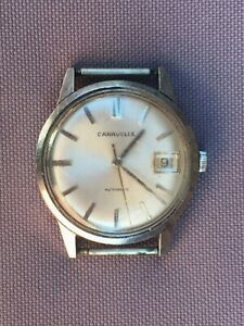 Vintage Mens CARAVELLE Automatic WATCH By Bulova, DATE